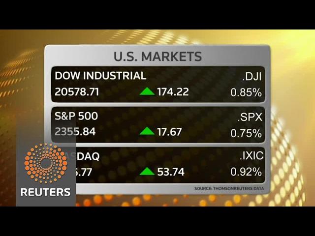 Wall Street rallies on earnings