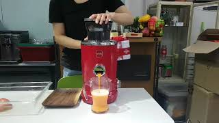 [NOVIS] 사과/당근 주스 만들기