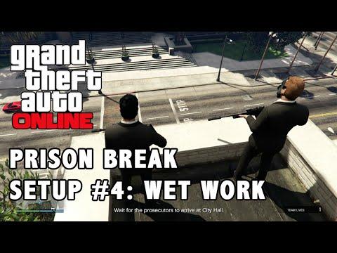 GTA Online Heist #2 - Prison Break - Setup 4 - Wet Work