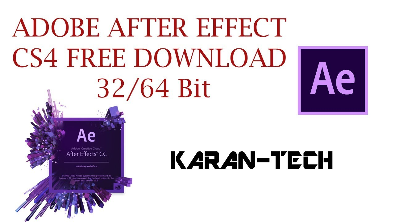 Download Adobe After Effect Cs4 For Free Youtube
