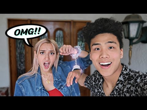 Handcuffed my CRUSH for 24 HOURS!!!