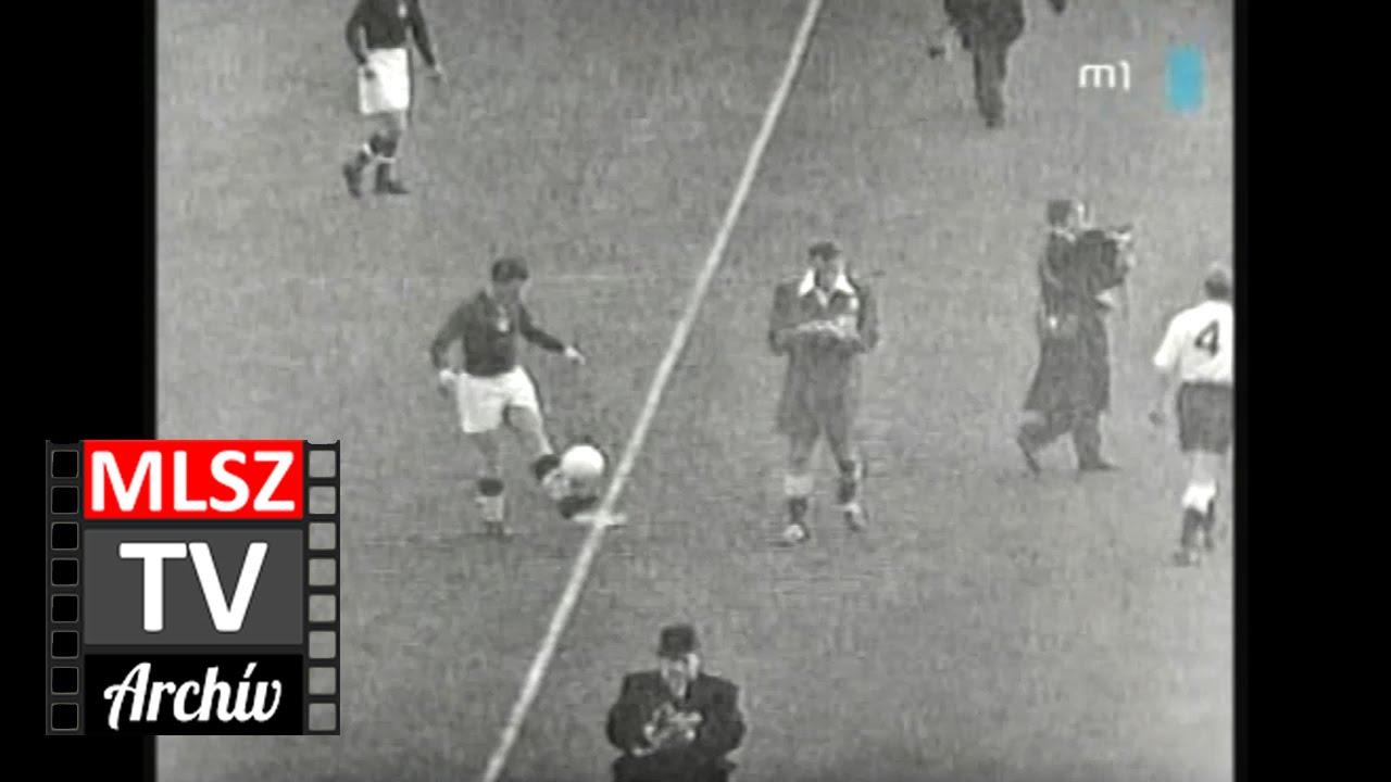 Anglia-Magyarország | 3-6 | 1953. 11. 25 | MLSZ TV Archív