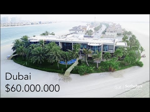 Inside a $60 Million Dubai Mega Mansion! - Palm Jumeirah Isl