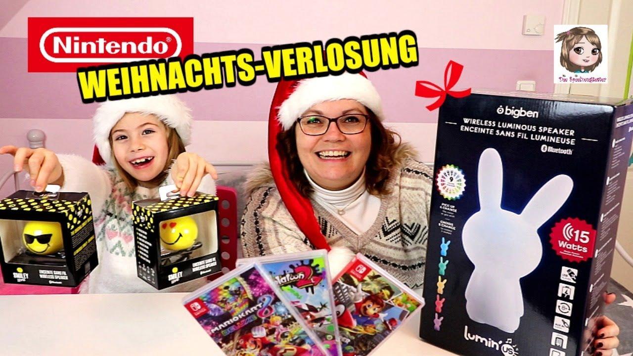GESCHENKE FÜR EUCH! - Verlosung zu Weihnachten - Nintendo Switch ...