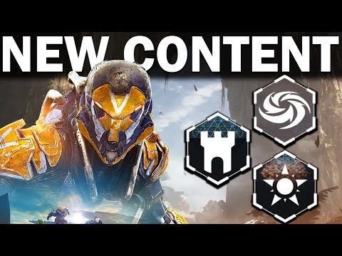 Anthem: ALL NEW CONTENT Coming within 90 Days! - Stronghold, Masterworks, Cataclysm & More!