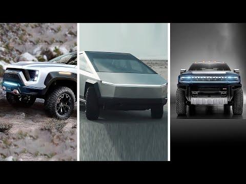 Nikola Badger vs Tesla Cybertruck vs GMC Hummer EV
