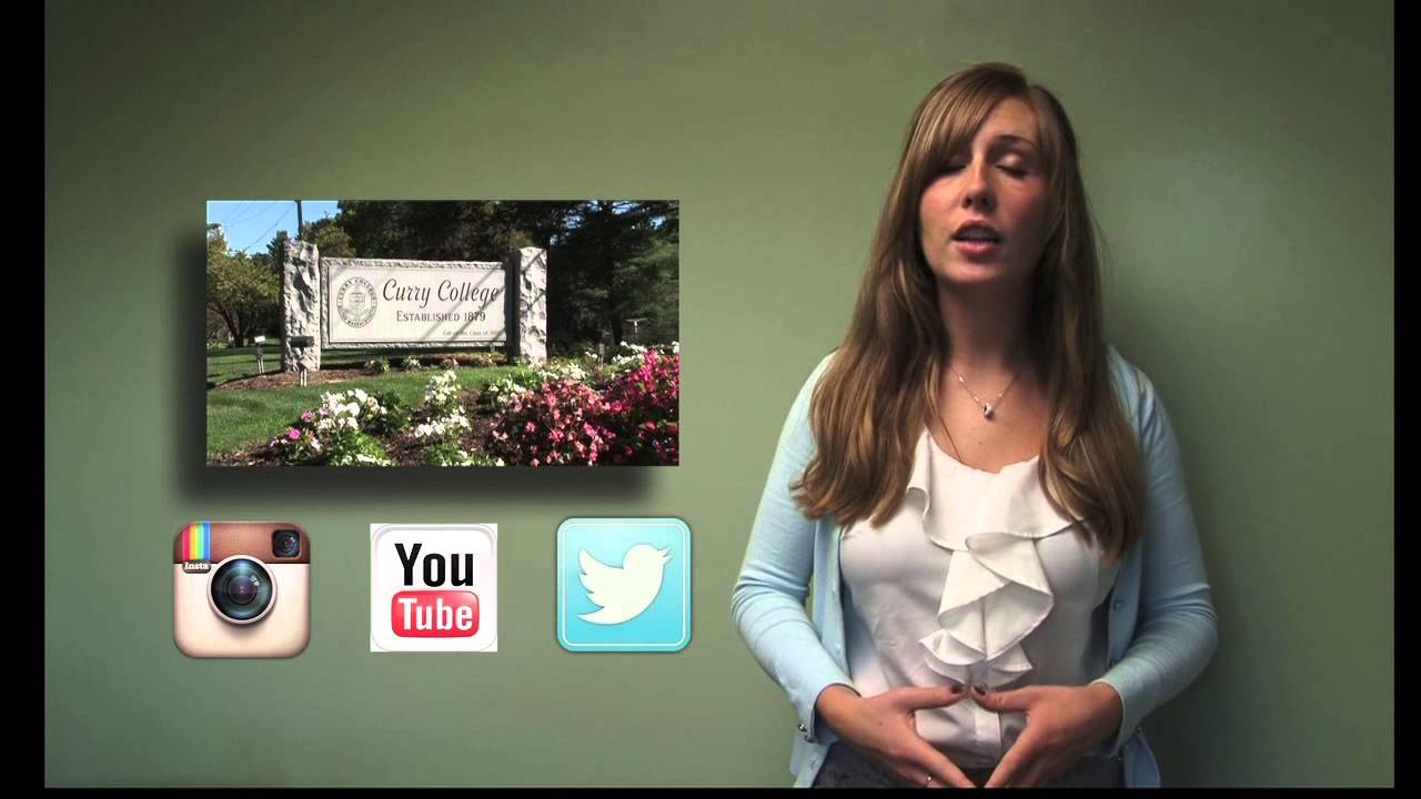 example of a video resume featuring curry college student tanya williams youtube