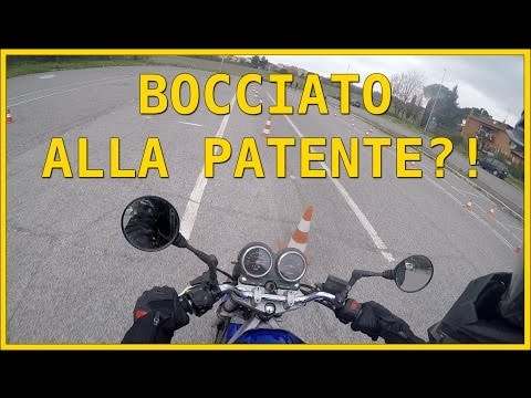 Test patente A1/A2 - HO RISCHIATO DI ESSERE BOCCIATO! #Husqvarna SM 125#