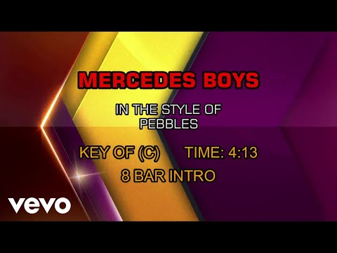 Pebbles - Mercedes Boy (Karaoke)