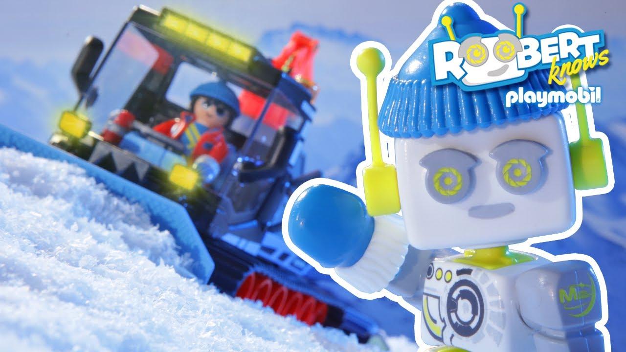 Come funziona il gatto delle nevi? ❄️🏔️⛷️ | ROBert | PLAYMOBIL Italiano