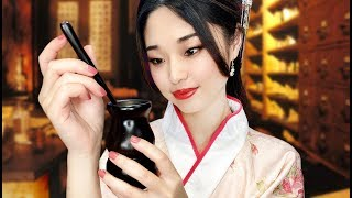 [ASMR] Relaxing Ancient Chinese Pharmacy