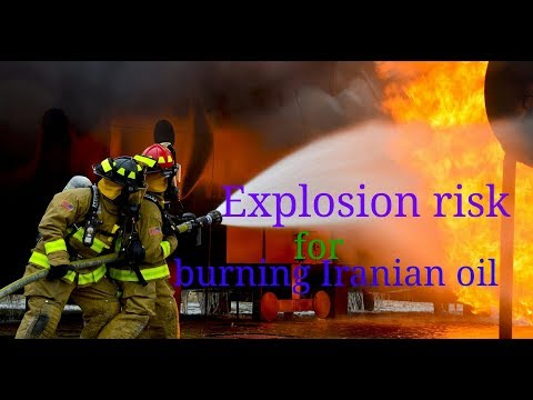Explosion risk for burning Iranian oil tanker off China cust  ||dilkiawaz||