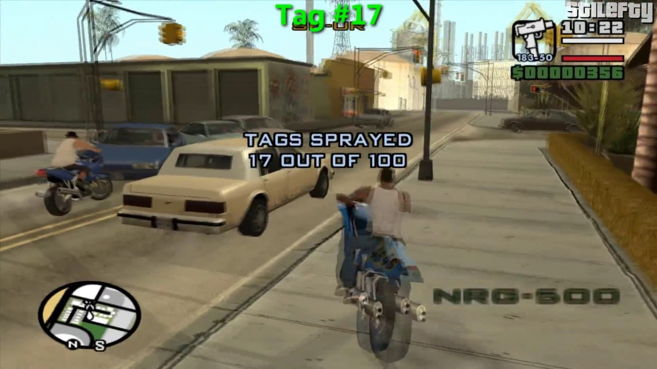 Gta San Andreas  Tags Guide