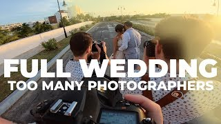 Wedding Photography - Behind the Scenes Destination Wedding Full Day (Only with an 85mm)