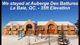 Saguenay, Monts Valin, Lac Saint-Jean Quebec Snowmobiling