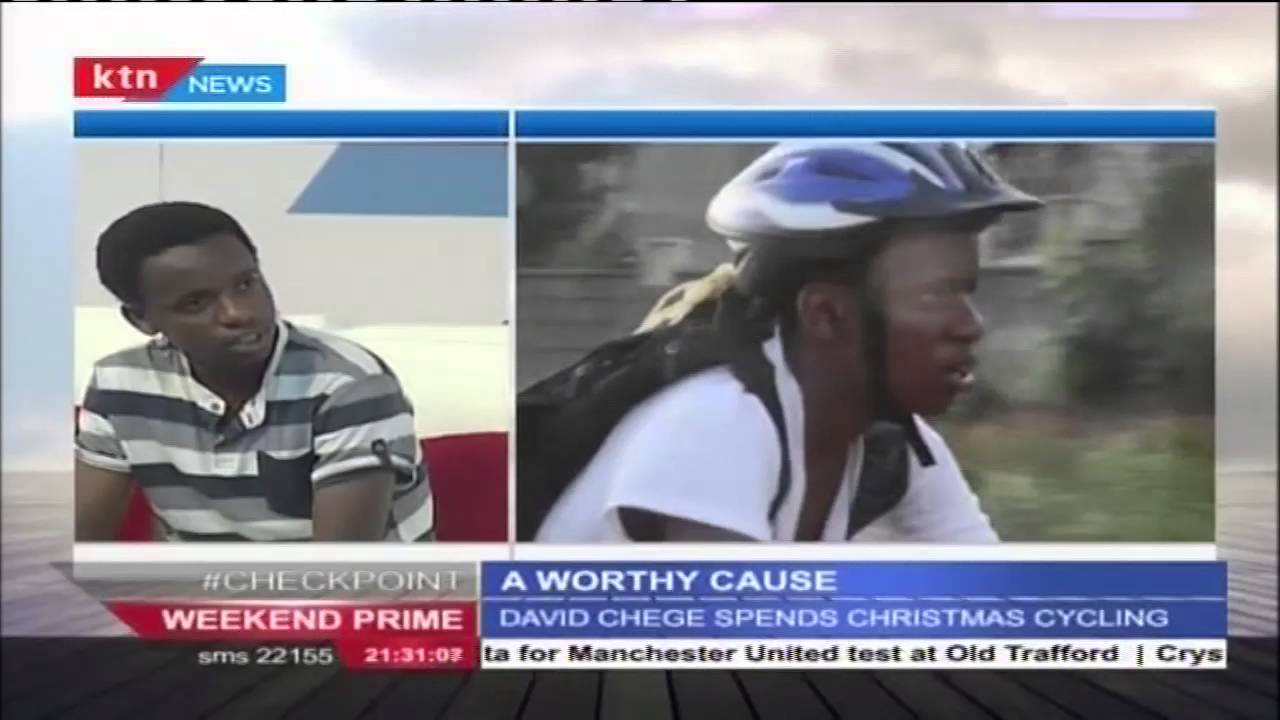A WORTHY CAUSE: 16 Year old rides a bicycle to buy medical ambulance
