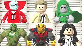 All Justice League Dark Characters in LEGO DC Super-Villains (DLC)
