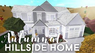 Autumnal Hillside Home | 130k | Bloxburg Build | alixia