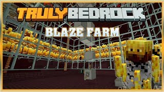 Truly Bedrock S0 EP20 : Blaze Farm... Foxy Failed [ Minecraft, MCPE, Bedrock Edition,Windows 10 ]