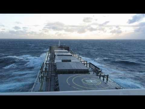 South Africa Passage - Heavy Weather - 06-06-2013