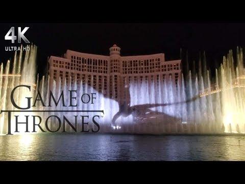 Game Of Thrones Bellagio Water Show Las Vegas 2019 #ForTheThrone