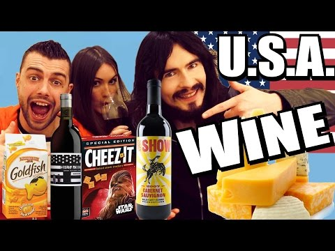 Irish People Taste Test 'AMERICAN WINES' & 'AMERICAN CHEESE SNACKS'