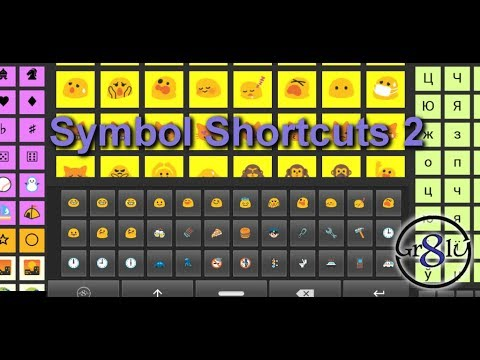 Android Custom Keyboard With Any Symbols Or Characters
