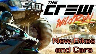 The Crew Wild Run - New Bikes and Cars
