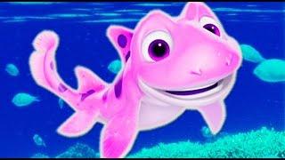 Мультик для детей Морская бригада (рыбки) трейлер | Fish cartoons animation for children