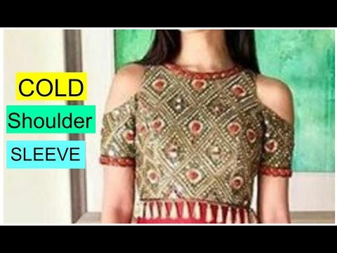 How To Make Cold Shoulder Sleeves | Easy Tutorial