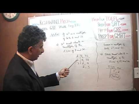 Revised GRE Math Day 286, p159, Divisors, Factors, Hard Problem, Prep Tutor via Skype GMAT, SAT, ACT