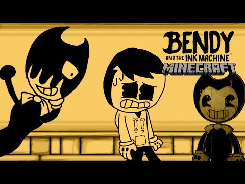 Bendy And The Ink Machine - Chapter 1: Moving Pictures - Minecraft Map Showcase