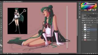 Speedpainting: Sailor Pluto