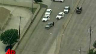 Raw Video: Violent End to Police Chase