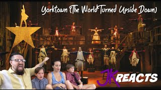 Hamilton's Yorktown (The World Turned Upside Down) JKReacts