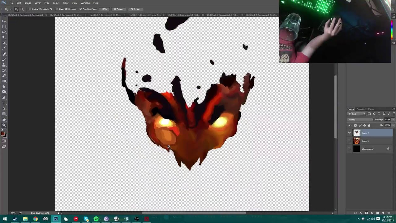 Mouse Only Speed Arts Shadow Fiend Arcana Demon Eater
