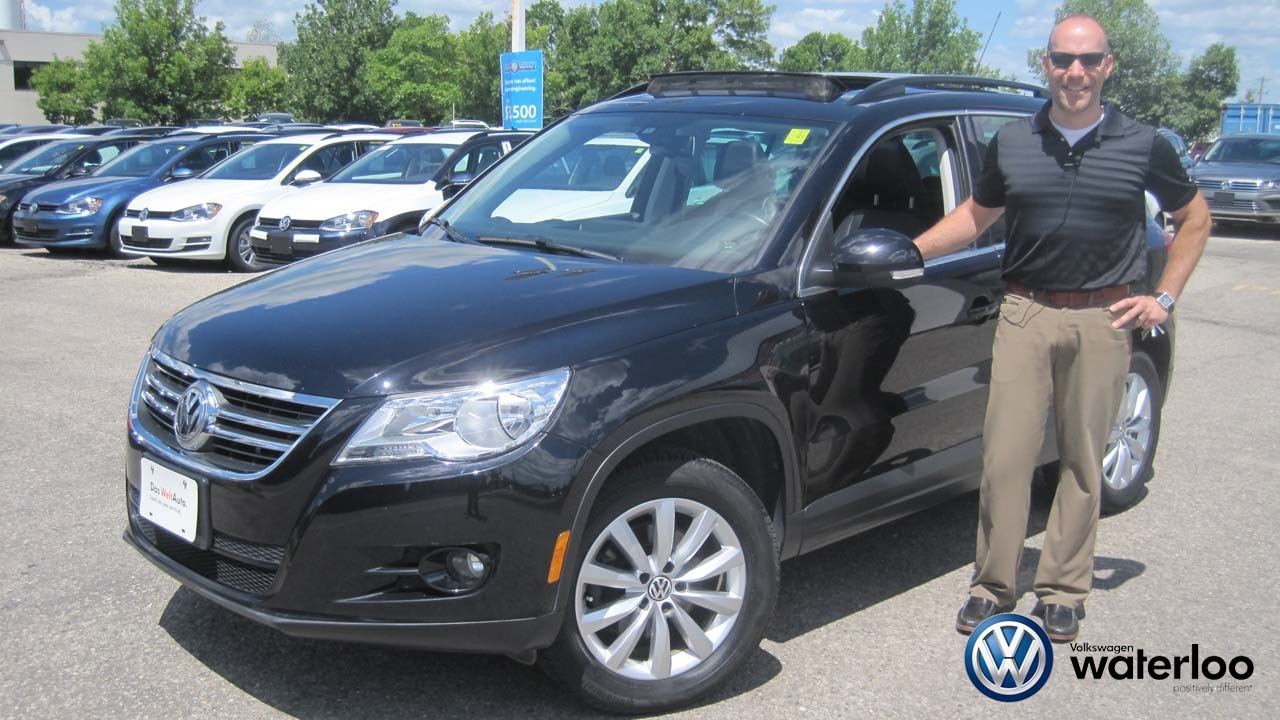 2011 vw tiguan highline review at volkswagen waterloo with. Black Bedroom Furniture Sets. Home Design Ideas