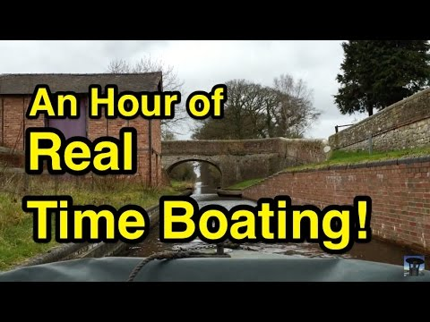 RTB: An Hour of Real Time Boating (Montgomery Canal)