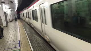 名鉄 2200系 快速特急 行先不明 名古屋発車