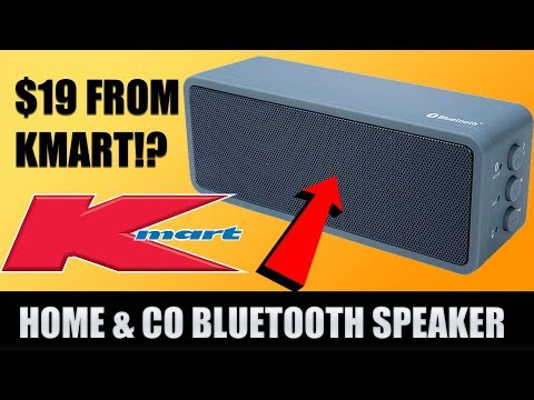 Home & Co Kmart $19 Bluetooth Portable Speaker Review