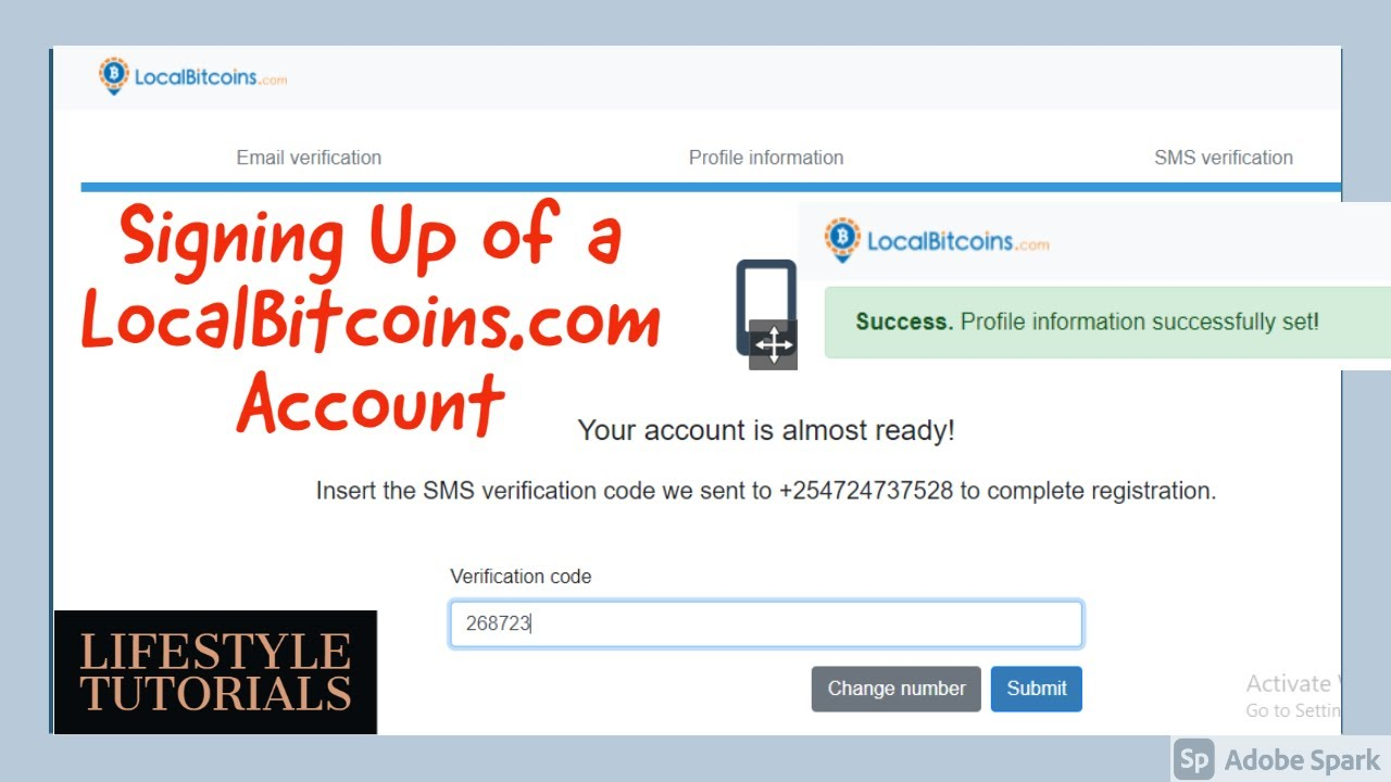 Localbitcoins sign up selling bitcoins money laundering