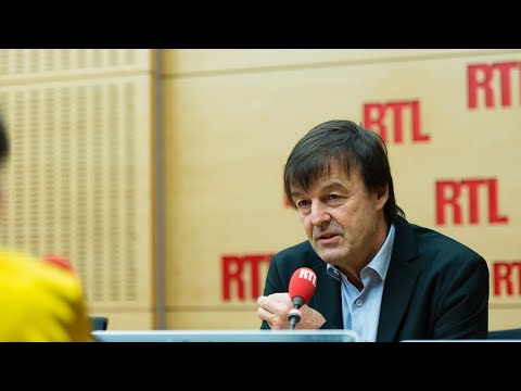Nicolas Hulot est l'invité de RTL