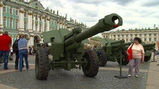Выставка военной техники на Дворцовой 2017