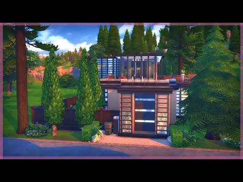 The Sims 4 House Build   Luxury Forest Retreat   Peterson Hollow + CHANNEL UPDATE
