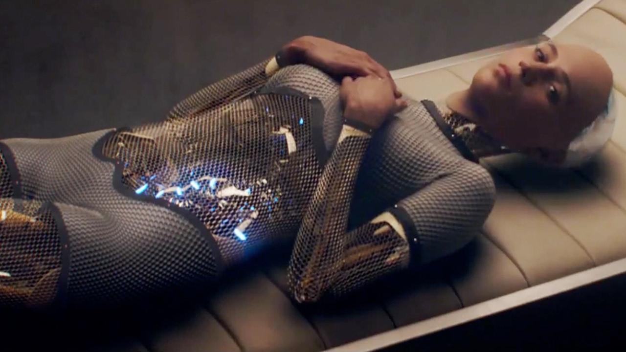 Alicia Vikander - Ex Machina I AM NOT A ROBOT - YouTube