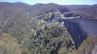 Phantom crashes into cliff in Snowy Mountains beside Tumut Dam