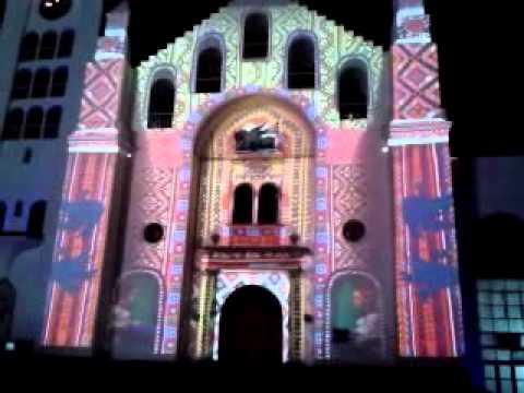 Luz y sonido en catedral de san marcos, tuxtla gut