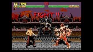 Mortal Kombat 2 - Liu Kang - (Sega 32x) - Completo