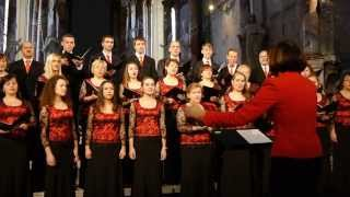 "Hans Leo Hassler ""Halleliuja - Laudem dicite""; Mixed choir «Saluto»"