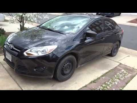 2014 Ford Focus Oil Change